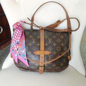 Louis Vuitton Crossbody Samur 30 Monogram Handbag